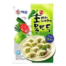 Beksul Pork & Vegetable Dumpling 1.79lb(810g), 백설생야채 돼지고기 물만두 1.79lb(810g)