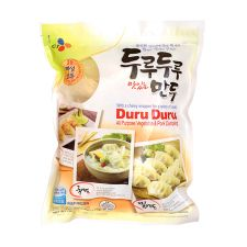 CJ Duru Duru All Purpose Vegetable & Pork Dumpling 25oz(710g), 씨제이 두루두루 맛있는 만두 25oz(710g)