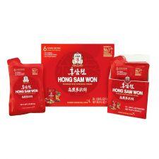 KGC Hong Sam Won Korean Red Ginseng Drink 1.69oz(50ml) 20 Pouches, 정관장 홍삼원 1.69oz(50ml) 20포, 正官庄 韓國高麗參精華飲 1.69oz(50ml) 20袋