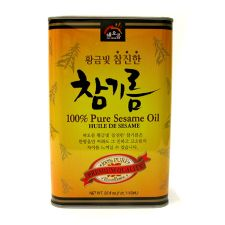 Haioreum Pure Sesame Oil 56oz(1.6kg), 해오름 참진한 참기름 56oz(1.6kg)