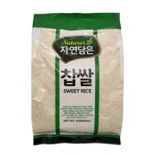 Raw Nature Sweet Rice 4lb(64oz), 자연담은 찹쌀 4lb(64oz), Raw Nature Sweet Rice 4lb(64oz)