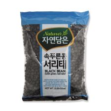 Natures Black Bean with Green Kernels 2lb(907g), 자연담은 속푸른콩 서리태 2lb(907g)