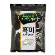Natures Black Rice 4lb(64oz), 자연담은 흑미  4lb(64oz)