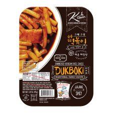 Ktown Dukboki Spicy Jjajang Flavor 1.09lb(495g), 케이타운 그때 그맛 국물 떡볶이 매운 짜장맛 1.09lb(495g)