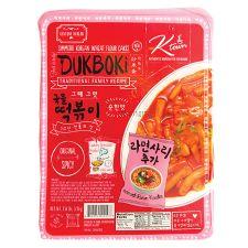 Ktown Dukboki Original Spicy with Ramen Noodles 1.58lb(720g), 케이타운 그때 그맛 국물 떡볶이 순한맛 + 라면사리 1.58lb(720g)