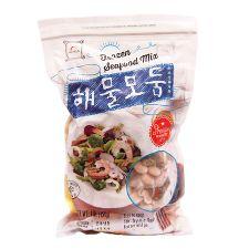 Haioreum Frozen Seafood Mix 1lb(454g), 해오름 해물모듬 1lb(454g)
