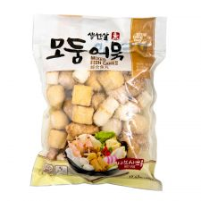 Tong Tong Bay Mixed Fish Cakes 17.63oz(500g), 통통배 모둠어묵 생선살17.63oz(500g)