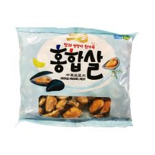 Tong Tong Bay Cooked Mussel Meat 16oz(453g), 통통배 자숙 홍합살 16oz(453g)