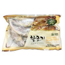 Tong Tong Bay Frozen Small Yellow Croaker 80/100 1lb(454g), 통통배 참조기 80/100 1lb(454g), Tong Tong Bay 冷凍黃花魚 (小) 1lb(454g)