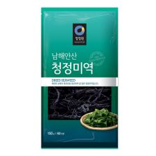 Chung Jung One Dried Seaweed 5.29oz(150g), 청정원 남해안산 청정미역 5.29oz(150g), 海苔 5.29oz(150g)