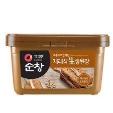 Chung Jung One, Soonchang Doenjang Soybean Paste 6.17lb(2.8kg), 청정원 순창 재래식 생된장 6.17lb(2.8kg), 淸淨園 Soonchang Doenjang Soybean Paste  6.17lb(2.8kg)