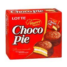 Lotte Choco Pie Original 12oz(336g) 12 Pcs, 롯데 초코파이 0.98oz(28g) 12개입