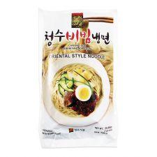 Choung Soo Bibim Naengmyeon (Korean Spicy Cold Noodle) 25.40oz(720g), 청수 비빔냉면 건면 25.40oz(720g)
