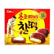 Chung Woo Chocolate Pie & Rice Cake 9.1oz(258g), 청우 초코파이 찰떡 9.1oz(258g)