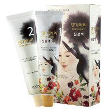 Daeng Gi Meo Ri Medicinal Herb Hair Color Medium Brown, 댕기머리 한방 칼라 크림 새치머리용 진갈색