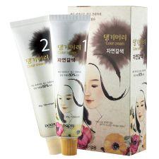 Daeng Gi Meo Ri Medicinal Herb Hair Color Natural Brown, 댕기머리 한방 칼라 크림 새치머리용 자연갈색