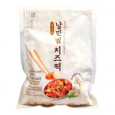 NangMan Brother Korean Fusion Rice Cake with Cheese 21.16oz(600g), 낭만 브라더 낭만 밀 치즈떡 21.16oz(600g)