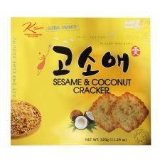 Ktown Sesame Coconut Cracker Big Size 11.29oz(320g), 케이타운 고소애 빅사이즈 11.29oz(320g)