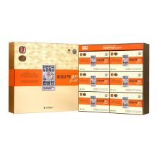 Hansamin Korean Red Ginseng Pure Liquid 2.37oz(70ml) 30 Pouches,한삼인 6년근 홍삼순액 골드 2.37oz(70ml) 30포, 韓參印 韓國紅參濃縮包 2.37oz(70ml) 30袋