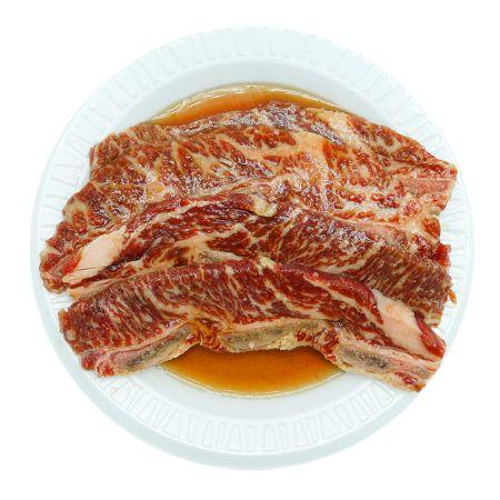 Marinated Sliced Beef Short Rib (LA Galbi) 1lb(454g)