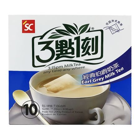 3:15PM Earl Grey Milk Tea 7.06oz(200g) 10 Bags