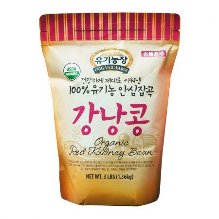 Organic Red Kidney Bean 3lb(1.36kg)