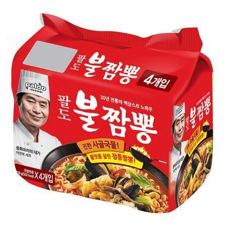 Bul Jjamppong Noodle Soup 4.90oz(139g) 4 Packs