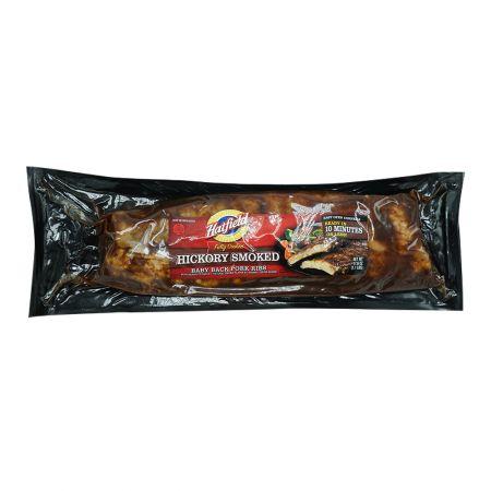 Hickory Smoked Baby Back Pork Ribs 1.1lb(500g)