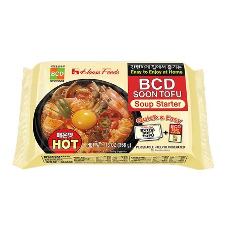 BCD Soon Tofu - Hot 13oz(368g)