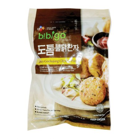 Bibigo Spicy Gochujang Chicken Patty 16oz(453g)
