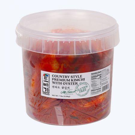 Premium Oyster Kimchi 7lb(3.18kg)