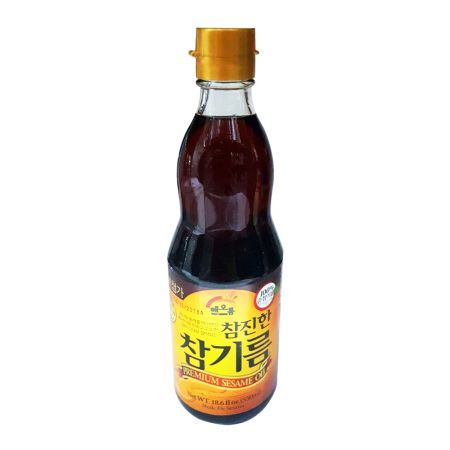100% Pure Sesame Oil 18.6 fl.oz(550ml)