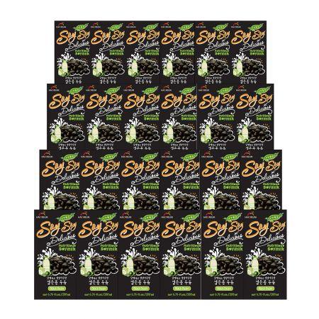 Soy Milk Black Bean 6.76oz(200ml) 24 Packs
