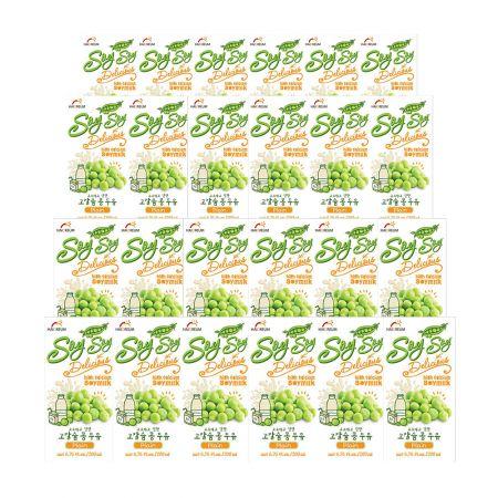 Soy Milk Plain 6.76oz(200ml) 24 Packs