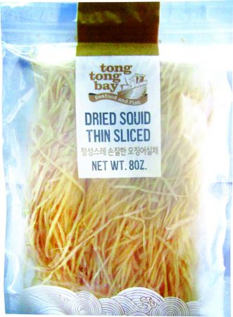 Thin Sliced Dried Squid 8oz(226g)