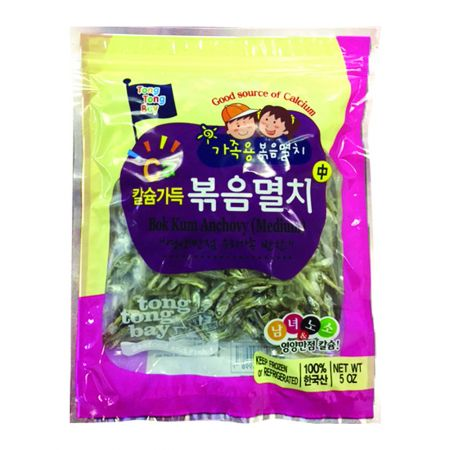 Fried Dry Anchoby 5oz(142g)