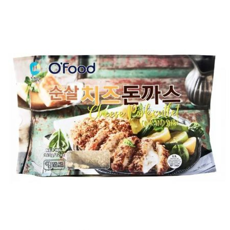 O Food Cheese Pork cutlet 14oz(396g)