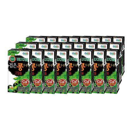 Vegemil Black Bean High Calcium Soymilk 6.43oz(190ml) 24 Packs
