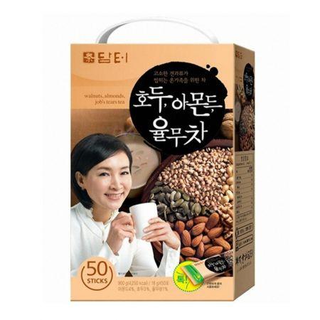 Walnuts, Almonds, Jobs Tears Tea 0.63oz(18g) 50 Sticks