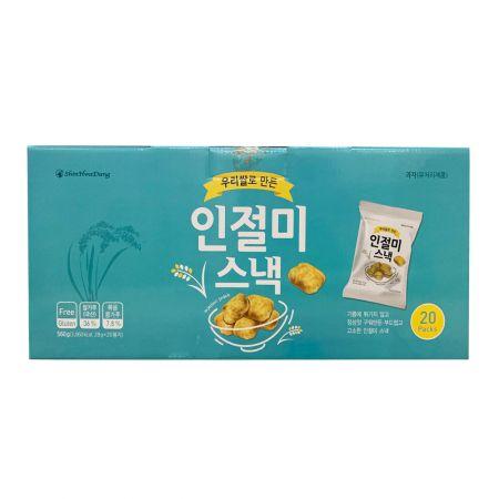 Injeolmi Snack Multi Pack 19.75oz(560g) (28g X 20ea)