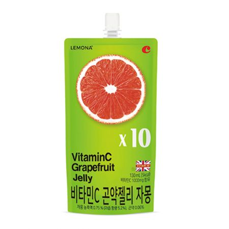Vitamin C Grapefruit Jelly 4.39oz(130ml)