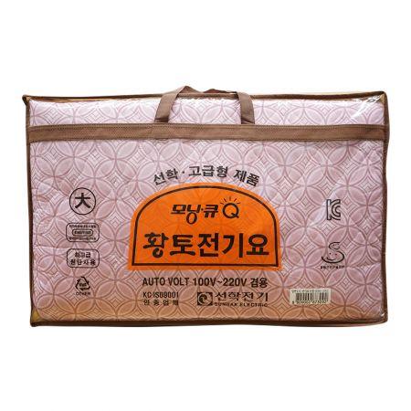 Morning Q Premium Yellow Soil Electric Pad L (SHM-2002)