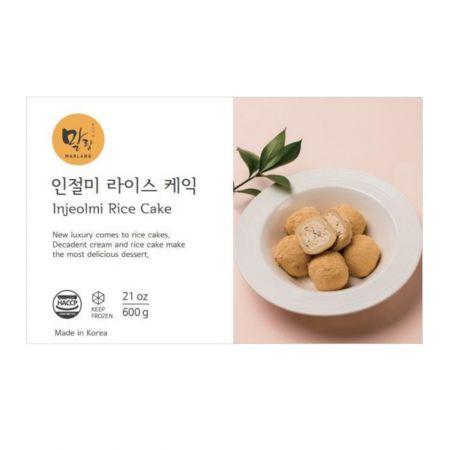 Injeolmi Cream Rice Cake 21oz(600g)