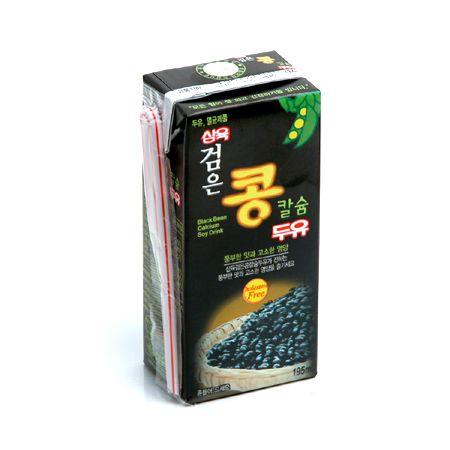 Black Bean Soy Milk Calcium 6.5oz(195ml) 24 Packs