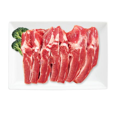 Pork Spare Rib for BBQ 3lb(1.3kg)