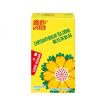 Less Sugar Chrysanthemum Tea 8.45 fl.oz(250ml) 6 Packs