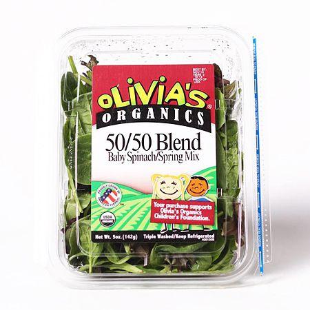 50/50 Blend (Baby Spinach/Spring Mix) 5oz(142g)