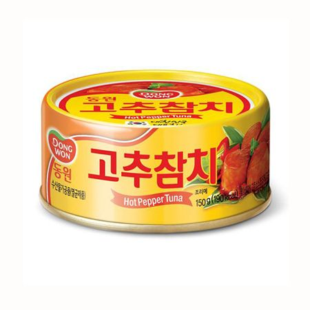 Tuna with Hot Pepper Sauce 5.3oz(150g) 1 Can