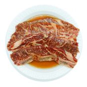 Marinated Sliced Beef Short Rib LA 1lb(454g)