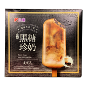 Brown Sugar Boba Ice Cream Bar 2.82oz(80g) 4 Packs